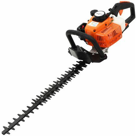 Petrol Hedge Trimmer 722 mm Orange and Black - Orange