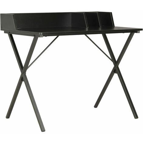 Desk Black 80x50x84 cm - Black