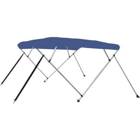 4 Bow Bimini Top Blue 243x196x117 cm