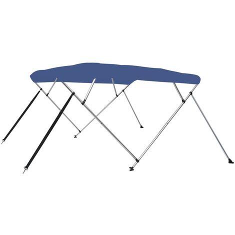 4 Bow Bimini Top Blue 243x210x117 cm