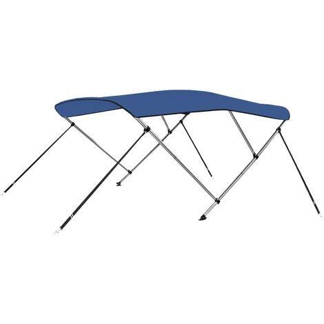 3 Bow Bimini Top Blue 183x160x140 cm