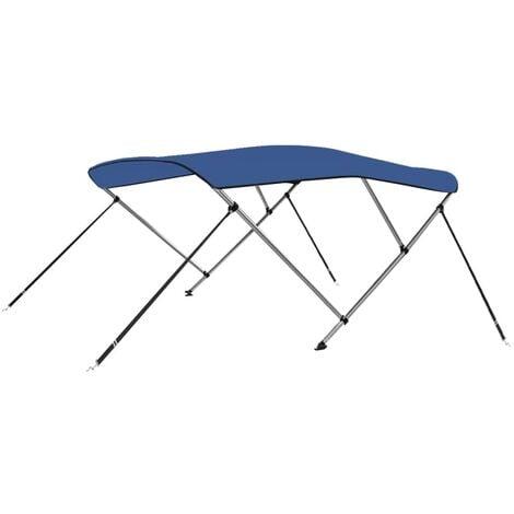 3 Bow Bimini Top Blue 183x196x140 cm