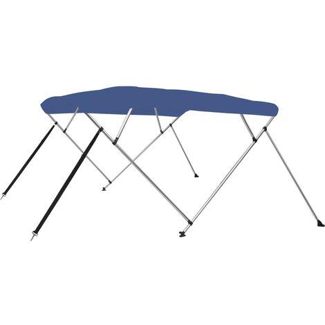 4 Bow Bimini Top Blue 243x180x117 cm