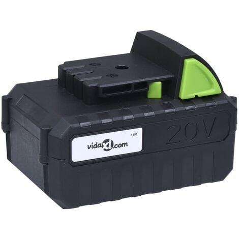 Battery Pack 20V 4000 mAh Li-ion - Black