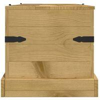 Storage Chest Mexican Pine Corona Range 91x49.5x47 cm - Brown