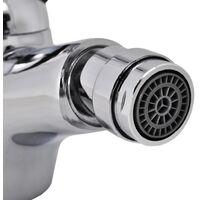 Bidet Faucets 2 pcs Chrome - Silver