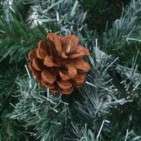 Artificial Christmas Tree with Pinecones 180 cm - Green