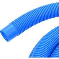 Pool Hose with Clamps Blue 38 mm 6 m - Blue