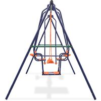 Swing Set with 5 Seats Orange - Orange