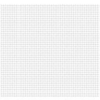 Crimped Garden Wire Fence Stainless Steel 100x85 cm 21x21x2.5mm - Silver