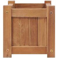 Raised Bed 50x25x25 cm Solid Teak Wood - Brown