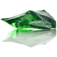 Gabion Rocks Glass Green 60-120 mm 25 kg - Green