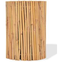 Bamboo Fence 500x30 cm - Brown
