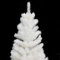 Artificial Christmas Tree Lifelike Needles White 90 cm - White