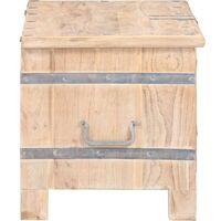 Chest 90x40x40 cm Solid Acacia Wood