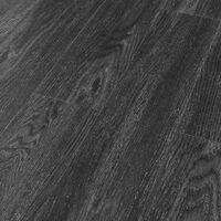 Self-adhesive Flooring Planks 4.46 m 3 mm PVC Oak Anthracite - Black
