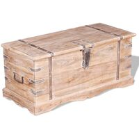 Storage Chest Acacia Wood - Brown