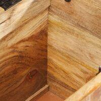Hall Bench 103x33x72 cm Solid Mango Wood - Brown