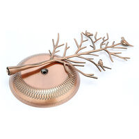 Small Birds Tree Jewelry Earring Necklace Display Stand Jewelry Storage Towers Alloy Tree Display Stand