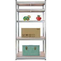 AREBOS Heavy Duty Shelving Workshop Shelving Basement Shelving Rack 875 kg