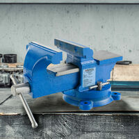 Vise Bench Vice 3,9'' 100 mm Work Bench Vise Rotating With Ambos