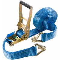 4 x ratchet tie down straps 6 m x 50mm Lashing Strap Cargo Trailer 5 T