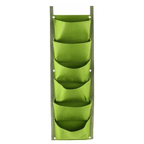 6 rinforzato a parete borse impianto stereo, verde militare