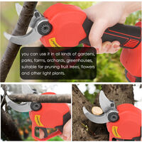 Forbici per potatura elettrica rami tagliati rami tagliati da giardino taglio cesoie da giardino 30mm, 21v | Due carica elettrica - Due carica elettrica