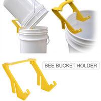Supporto per secchio per api Supporto per impugnatura per telaio per secchio per miele per apicoltore Forniture Strumento per alveare