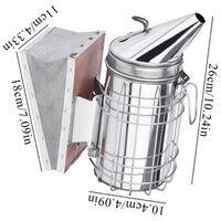 strumenti di apicoltura - filtro di fumo in acciaio inox