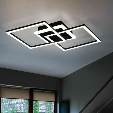Lampada Da Soffitto A Led Per Sala Da Pranzo Illuminazione Per Cucina Faretti Nero Opaco Dimmer