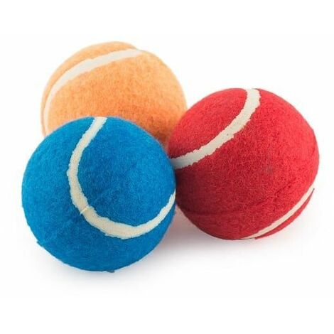 991079 - Ancol High Bounce Solid Tennis Balls (any colour)