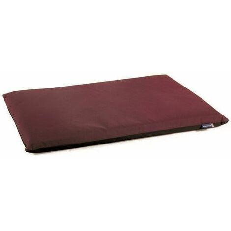 555420 - Waterproof Pad Burgundy/Black - XL - 107cm x 69cm