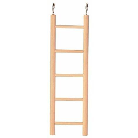 Trixie Bird Wooden Cage Ladder - (5 rungs / 24 cm)