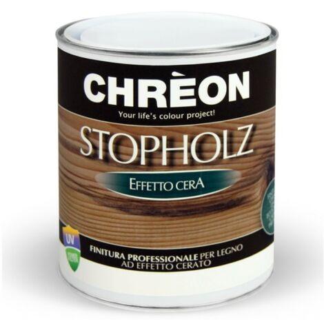 Finitura per legno effetto cera Chreon Stopholz Stoppani da 750 ml   Trasparente