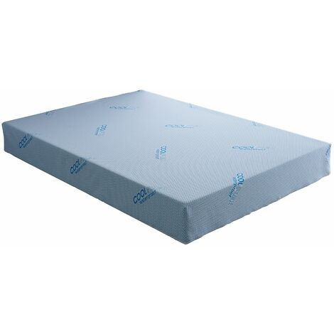 Waterproof Luxury Reflex Foam Rolled Mattress with Breathable Coolflex Cover - 2FT6 Small Single