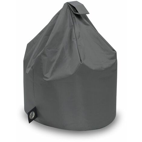 New Chino Bean Bag, Water and Weather Resistant, Suitable for Outdoor and Indoor Use - Dark Grey