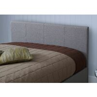 Prado Gas Lift Ottoman Storage Bed in Grey (Frame Only) - 4FT Small Double