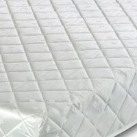 Deluxe Memory Foam Coil Spring Rolled Mattress - 4FT Small Double