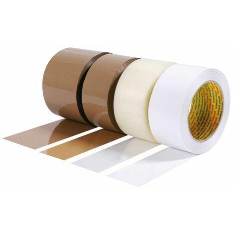 Ruban adhésif polypropylène Scotch® 3M 371 BLANC 48mmx132m - COLIS 36 RLX