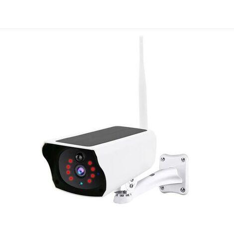 Caméra de surveillance extérieure Wifi, vision nocturne audio à deux ,canaux 1080P 10M IP67,Avec carte SD contenant 128G