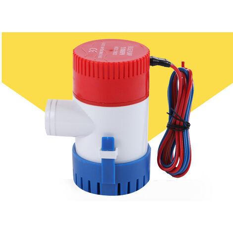 Pompe De Cale  Dc 12V Electrique Pompe A Eau Pour Aquario Submersible Hydravion Motor Homes Boats Bateau-Logement