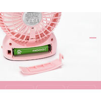 Ventilateur Batterie Ventilateur de Bureau Ventilateur Portable Silencieux USB Ventilateur Petit Ventilateur avec Batterie Rechargeable Ventilateur de Bureau