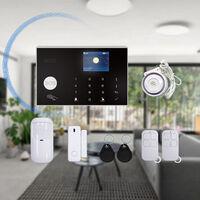 Alarme wifi multilingue à double réseau réseau domestique GSM alarme antivol hôte système antivol domestique intelligent