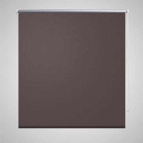 Estor Persiana Enrollable 80 x 230 cm Café - Marrón