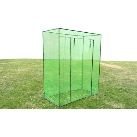 Invernadero armazón de acero PVC - Verde