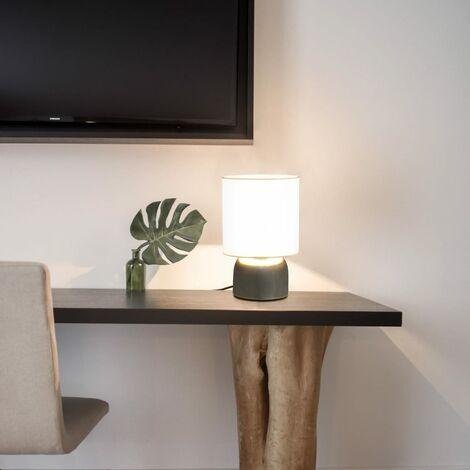 Lámparas de mesa táctiles 2 unidades blanco E14 - Blanco
