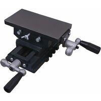 Mesa de tornillo de banco manual carro transversal