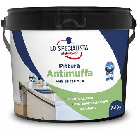 PITTURA ANTIMUFFA BIANCA LT.2,5   PZ