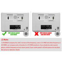 Chuango TAG-26 315MHz Wireless RFID Key Tag f¨¹r Chuango GSM Wireless Einbrecher Home Security Alarmsystem,Schwarz